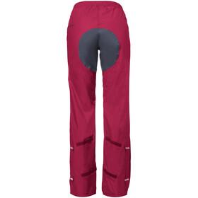 VAUDE Drop II Pants Dam crimson red